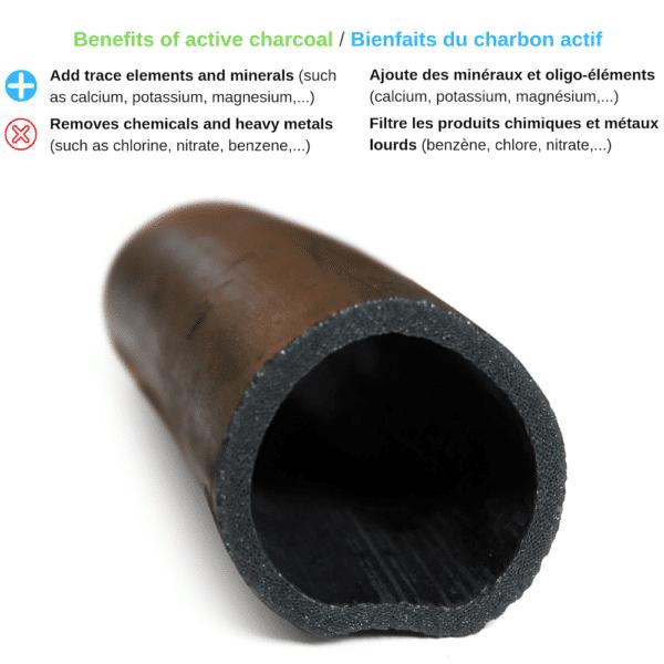 Charbon Binchotan Bambou
