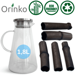 Carafe filtrante charbon actif