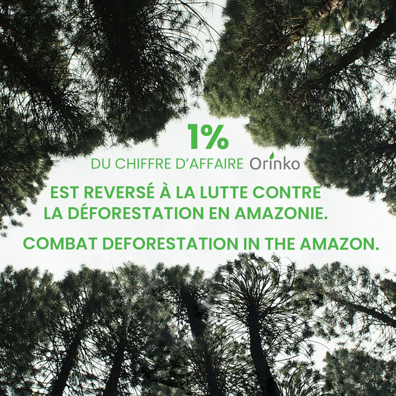 1% reversé pour l'Amazonie