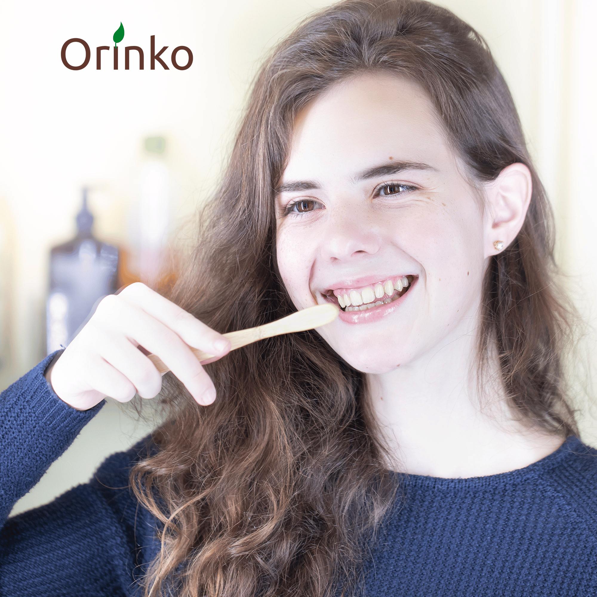 brosser les dents avec orinko