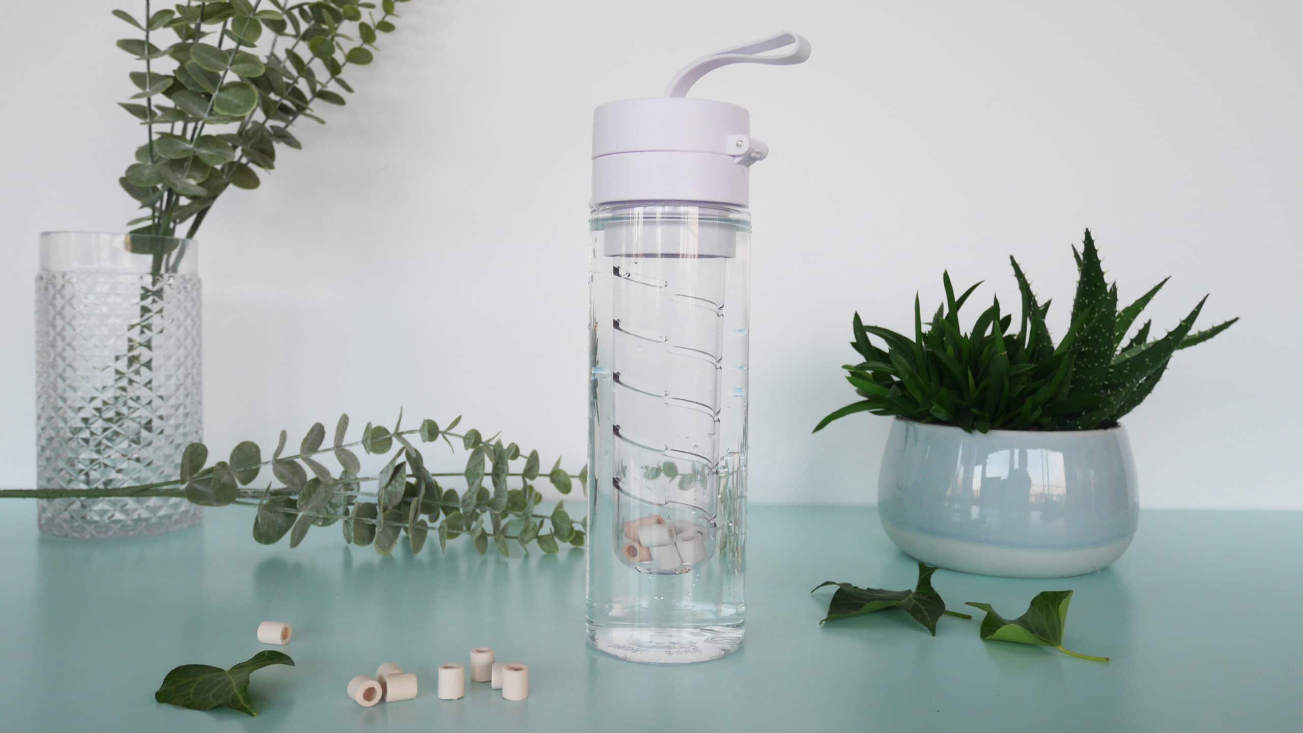 Les perles pour purifier l'eau du robinet