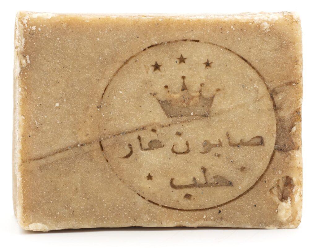 sceau de l-artisan attestant de la qualité du savon d-Alep