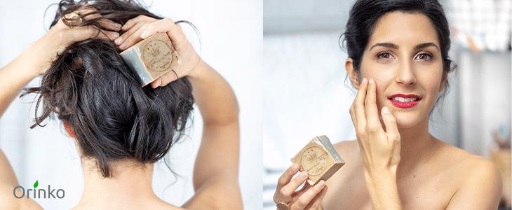 Bienfaits du savon d'Alep pour corps et cheveux