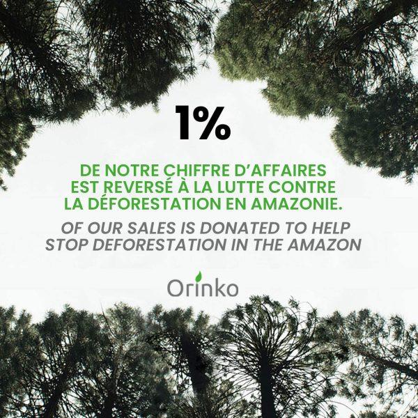 1% contre deforestation